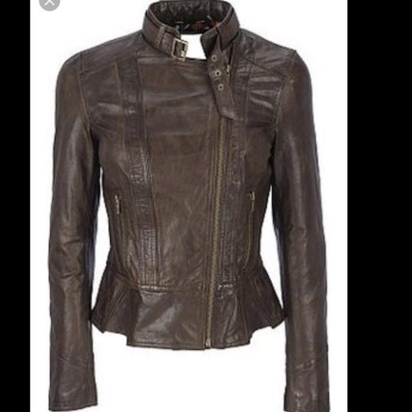c2124499afec Black Rivet Women s Genuine Leather Moto Jacket XL